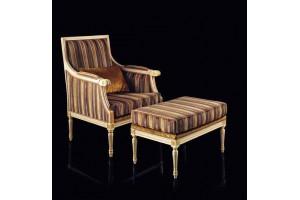 Кресло+пуф LUIGI XXI