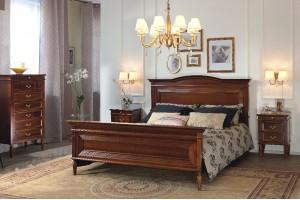 Кровать СИНЬОРИА 160 с изножьем KP-021